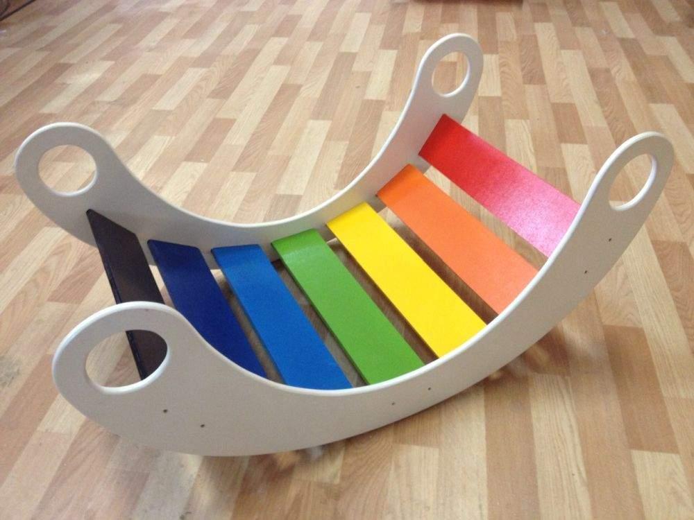 Детская лестница-качалка «Радуга»