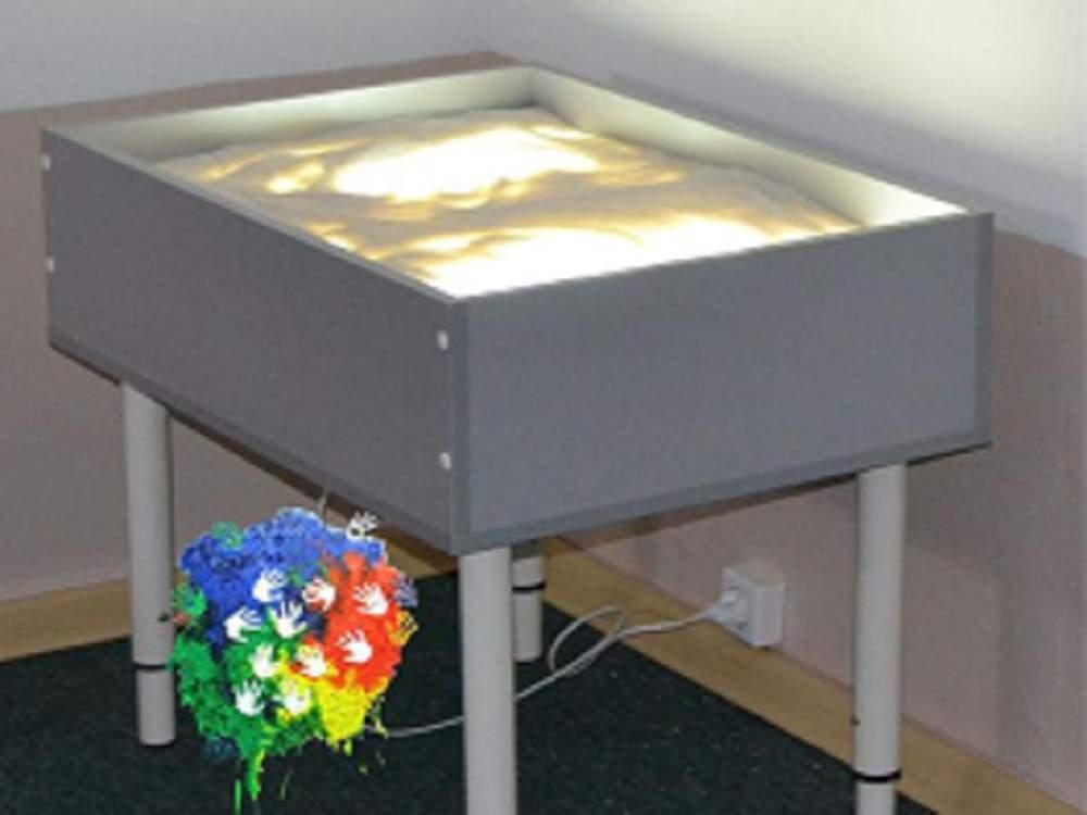 Световой стол для песочной терапии (RGB подсветка)