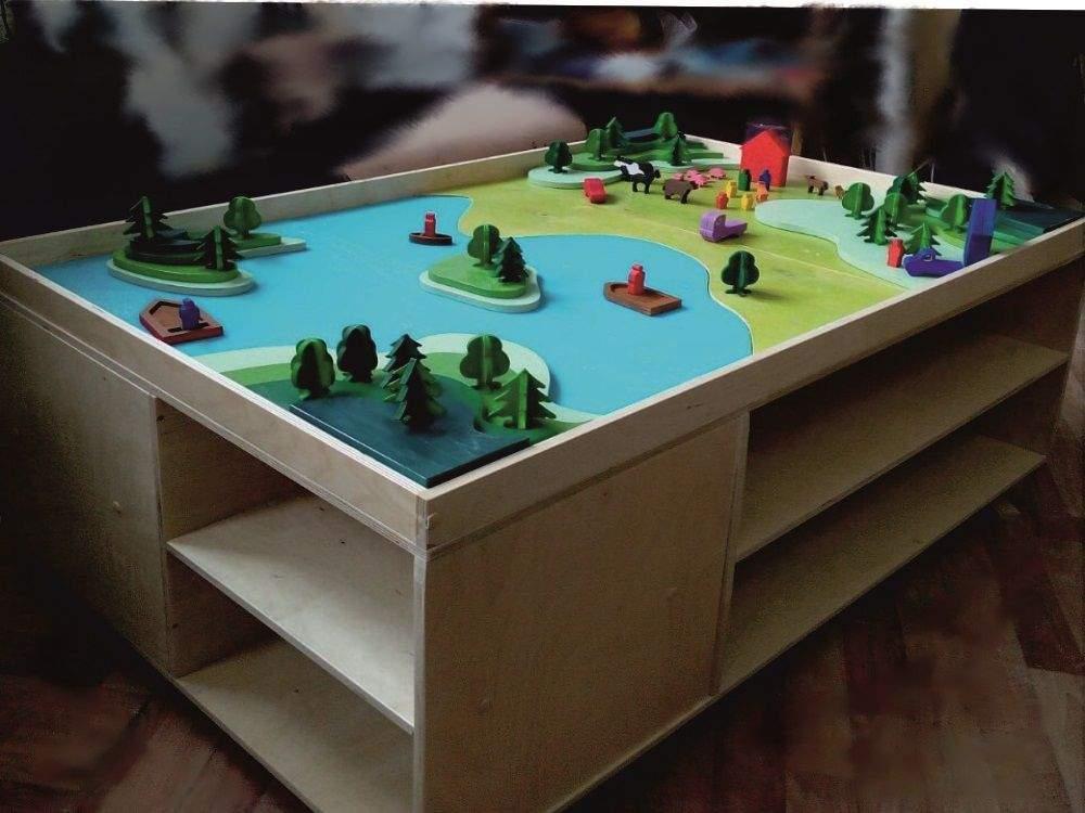 Мобильный игровой стол