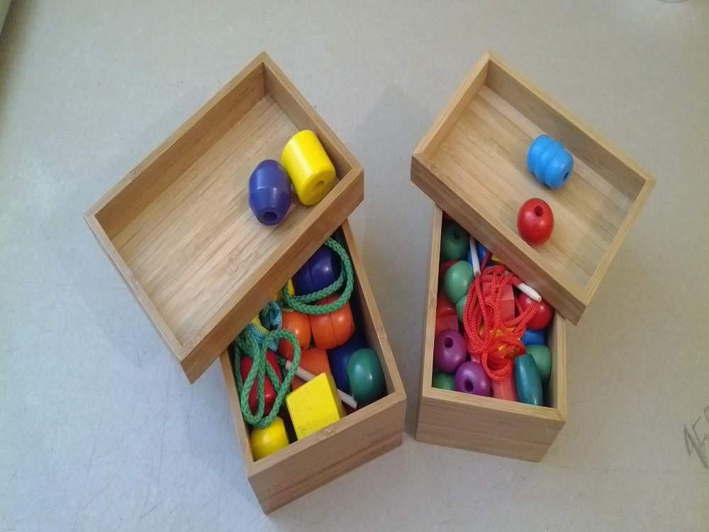 Комплекты бусин для шнурования и нанизывания (разновидности комплектов)