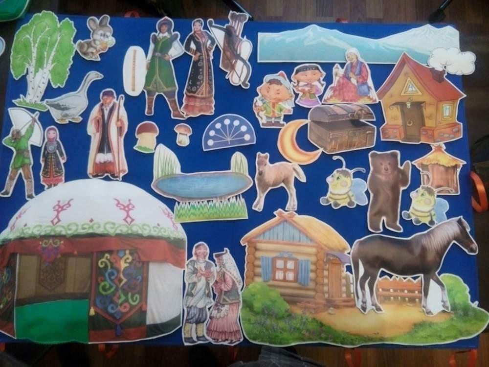 Настенное панно «Башкирские сказки»