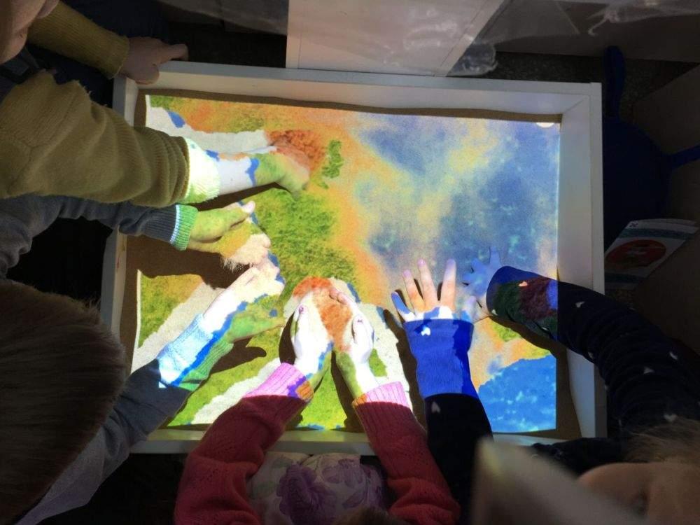 Интерактивная песочница – умный стол «ОСТРОВОК»