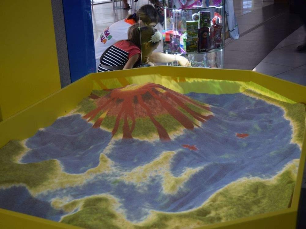 Интерактивная песочница — «Алмаз»