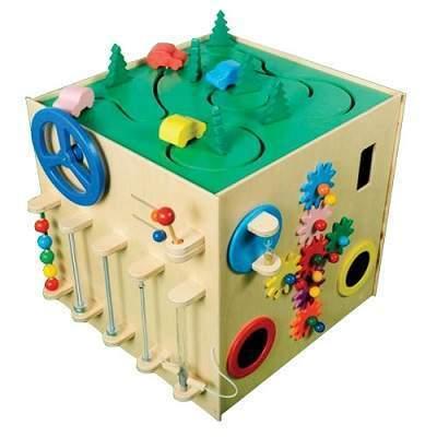 Бизиборд   Большой куб