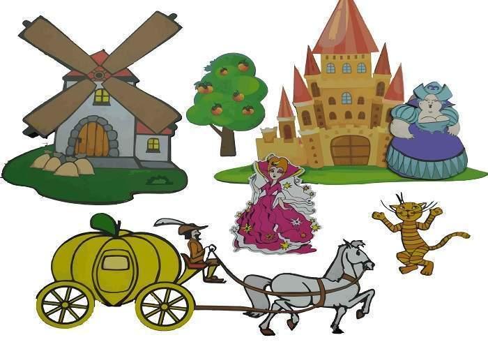 Комплект «Европейские сказки» магнитные (более 60 элементов)