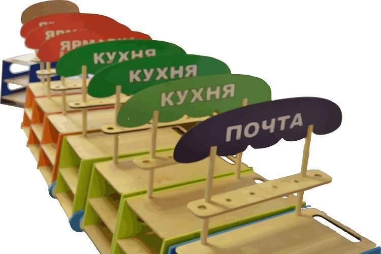 Сюжетно ролевые игры «Мобильная тележка» (серия игр «Будущее России»)