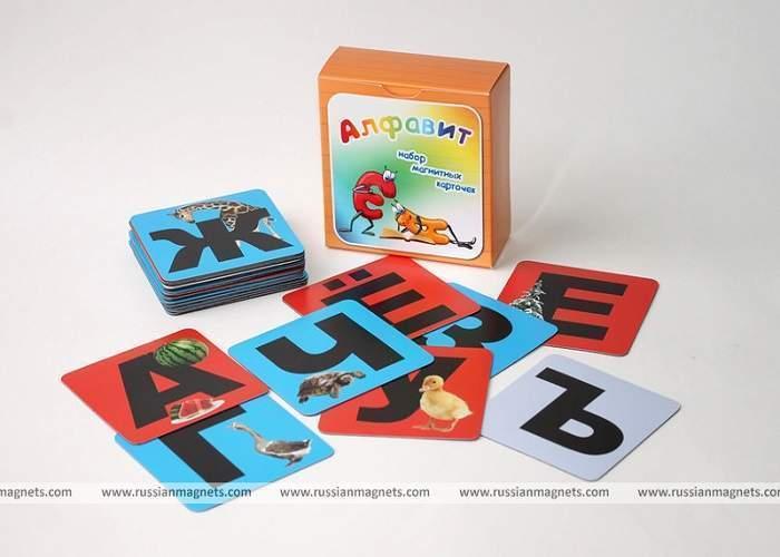 Набор магнитных карточек «Алфавит»