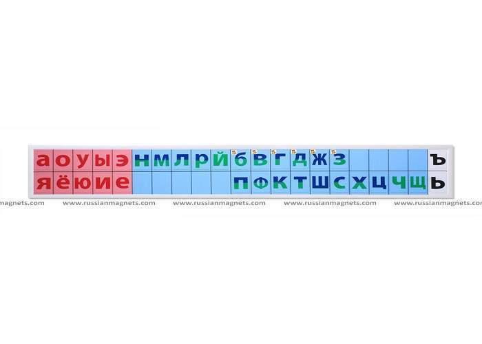 Набор карточек для магнитной доски «Лента букв»
