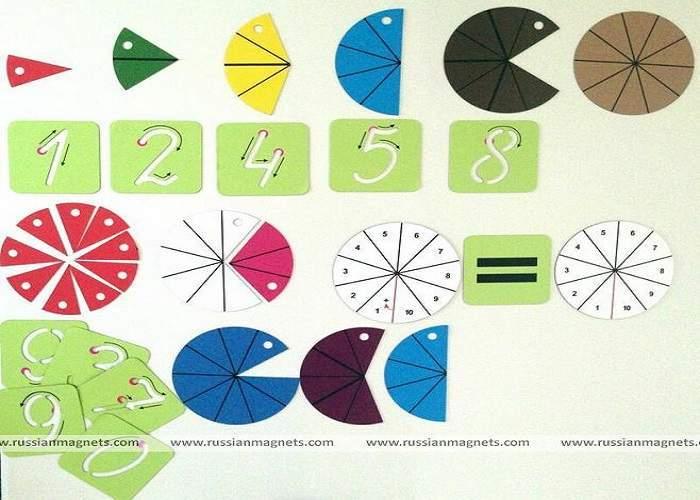 Магнитная математика Наталии Пятибратовой (курс «Дошкольник», от 3 до 6 лет)