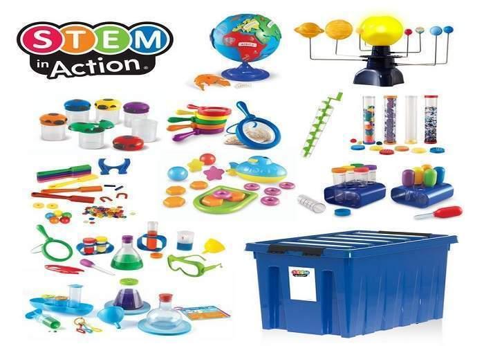 Игровой комплект «Научные эксперименты в детском саду. 3-7 лет.» (для группы)