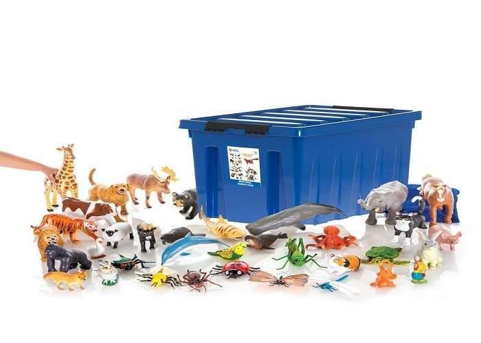 Большие игровые фигурки животных. Игровой комплект (для класса)
